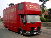Bloomfields Removal Lorry